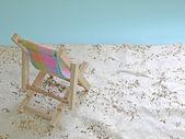 макет пляж — Стоковое фото