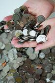 Money in the hand — Stock Photo