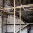 Unfinished stair construction — Stock Photo #45796991