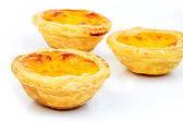 Portuguese Egg Tarts — Stock Photo
