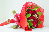 Rode roos boeket — Stockfoto