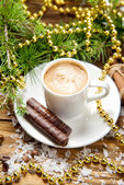 Cup of coffee. Christmas Collection. — Stock Photo