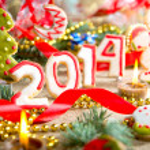 New Year. 2014 — Stock Photo #36597627