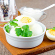 Boiled eggs — Stockfoto #37910559