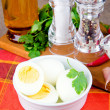 Foto de Stock  : Boiled eggs