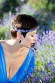Vacker flicka — Stockfoto