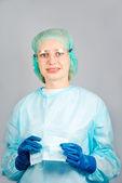 Female surgeon — Stock Photo