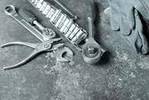 Tools for car repair — Stock Photo