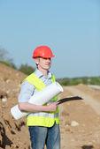 Engineer Road Service — Stok fotoğraf