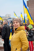 Ukraine, Sevastopol, March 9. The rally in the city of Sevastopo — Stock Photo
