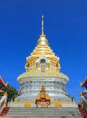 Pagoden i ett tempel — Stockfoto