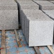 Stock Photo: Gray Marble for construction