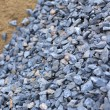 Sand and stone for construction work — Stock Photo