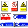 Safety signs broad — Stock Photo #32104913