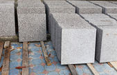 Gray Marble for construction — Stock Photo
