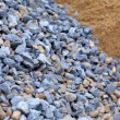 Stock Photo: Sand and stone for construction work
