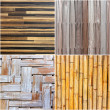 Set of wood texture wall with natural patterns — Stock Photo #32161587