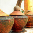 Earthenware for water — Stock Photo