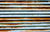 Rust on zinc texture — Stock Photo