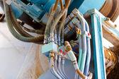 Conexión hidráulica — Foto de Stock
