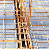 Foundation for home building — Stock Photo