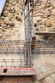 Foundation prepare for home building — Stock Photo