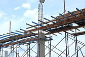 Fundacja przygotowania do budowy domu — Zdjęcie stockowe