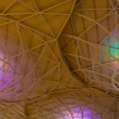 Colorful Ceiling Structure texture — Foto Stock