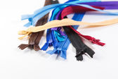 Colorful zipper — Stock Photo