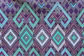 Batik cloth fabric texture background — Stock Photo