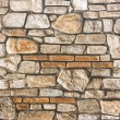 Stone wall pattern background — Stock Photo