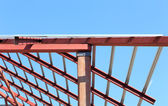 Roof steel construction for new house — Photo
