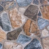 Stone wall pattern background — Zdjęcie stockowe
