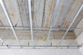 Ceiling setup for house building — Stock Photo