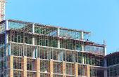 Construction Site on blue sky  — Stock Photo