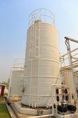Stickstoff-chemiefabrik für factory — Stockfoto