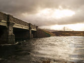 Old bridge in the Scottish Highlands — Stock Photo