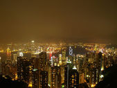 View over Hongkong — Stock Photo