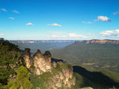The Three Sisters in Australia — Stock Photo