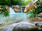 Waterfall at the Rincon de la Vieja National Park, Costa Rica — Stock Photo