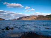 View over the famous Loch Ness — Stock Photo