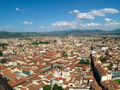 Looking over Florence, Italy — Stock Photo
