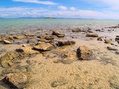 Praia paradisíaca na austrália — Fotografia Stock