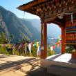 View of the Taktshang monastery in Paro, Bhutan — Stock Photo