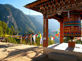 View of the Taktshang monastery in Paro, Bhutan — Stock Photo