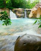 Waterfall at the Rincón de la Vieja National Park, Costa Rica — Stock Photo