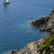 View from the French Port-Cros island in the mediterranean sea — Stock Photo