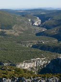 The Gorges du Verdon the famous canyon in France — Stock Photo