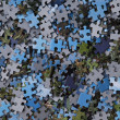 Pieces of Jigsaw Puzzle - Background — Stock Photo
