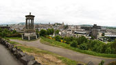 Cityscape from Calton Hill, Edinburgh - Scotland — Stock Photo